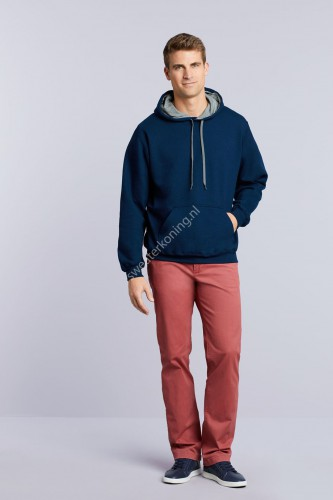 Unimodel Hooded sweater contrast (GIL185C00) - gil185c00