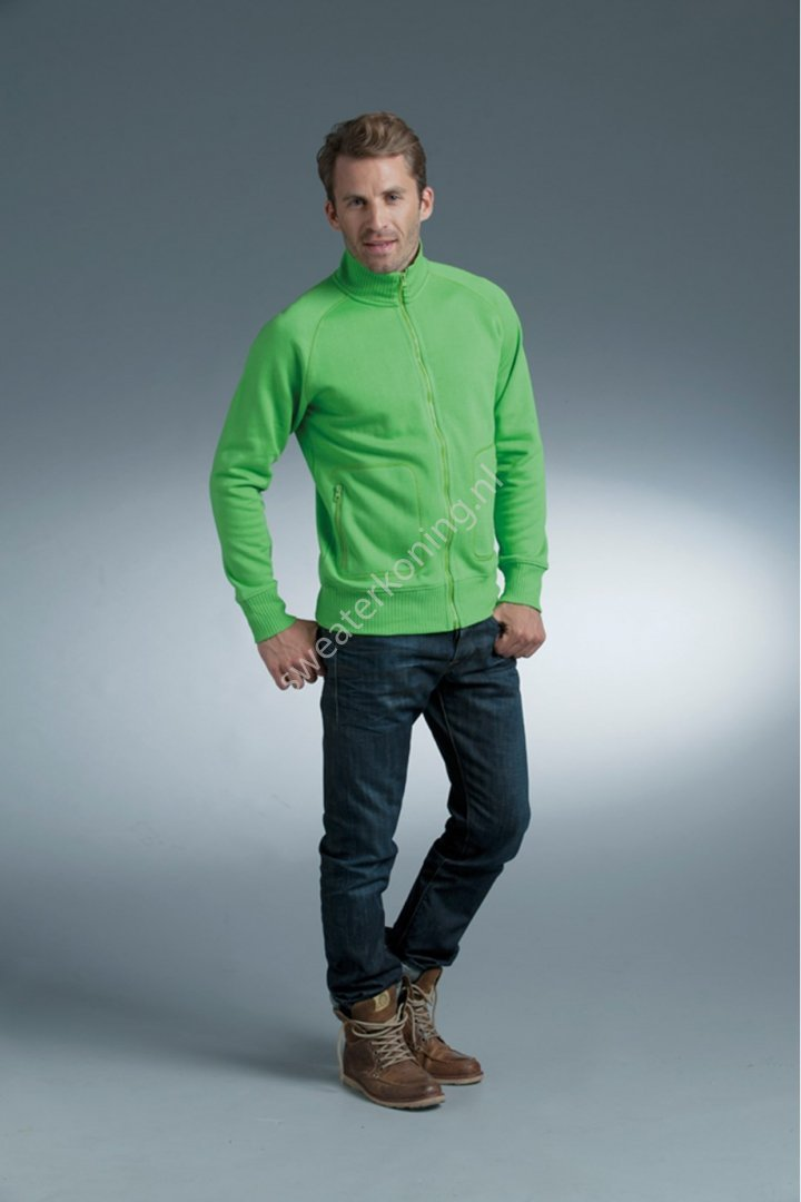 Unimodel Sweater met rits (LEM3236) - lemon and soda 3236