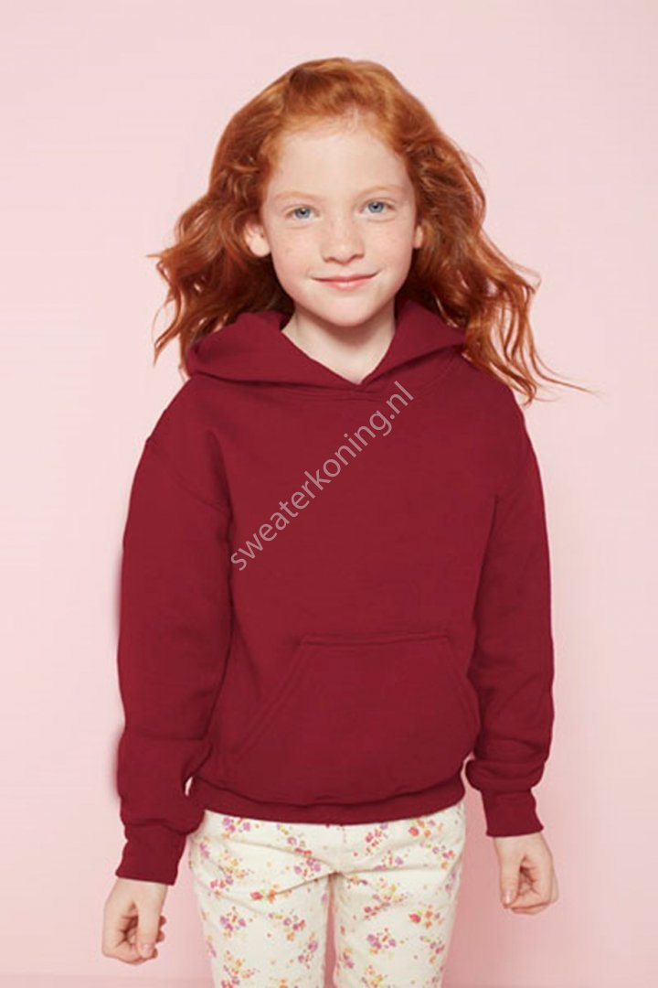 Kindermodel Hooded sweater (GIL18500B) - gildan 18500b