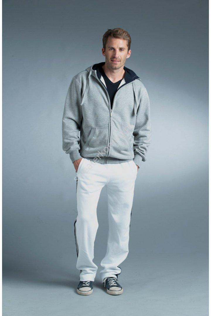 Unimodel Hoodedsweater met rits contrast (LEM3225) - lem3225