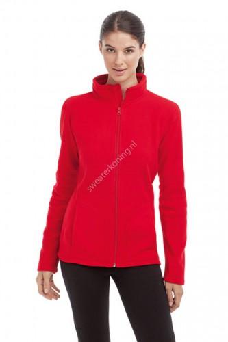 Damesmodel Fleece sweater (STE5100) - ste5100