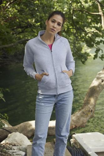 Damesmodel Sweater met rits (SC621160) - sc621160